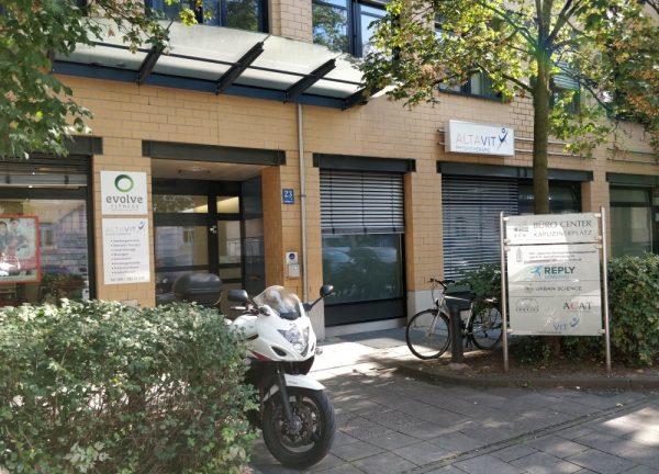 Physiotherapie München - ALTAVIT Unternehmenszentrale