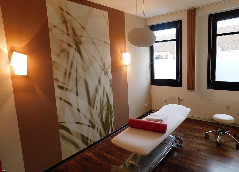 Physiotherapie Behandlungszimmer