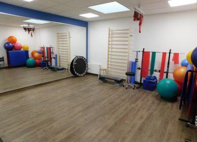 Gymnastikraum für Krankengymnastik