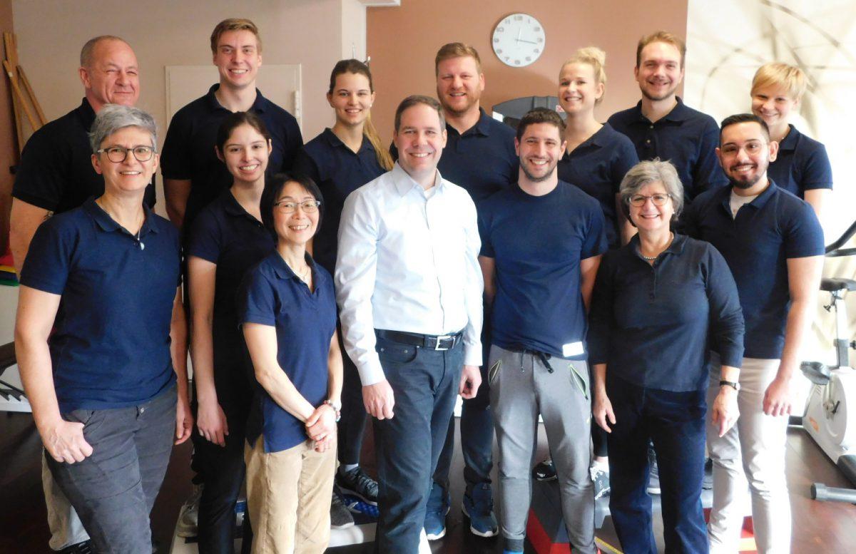 ALTAVIT Physiotherapie München Team